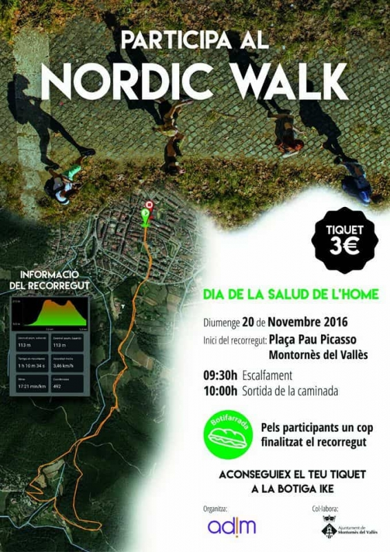 Cartell del Nordic Walk