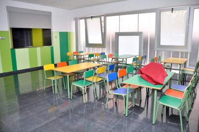Menjador de l'Escola Sant Sadurní