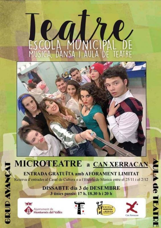Cartell de les sessions de Microteatre