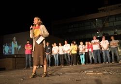 16/09/2016 - Lectura del pregó de festes amb Ada Parellada