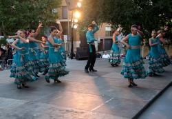 18/09/2016 - Demostració de dansa i música