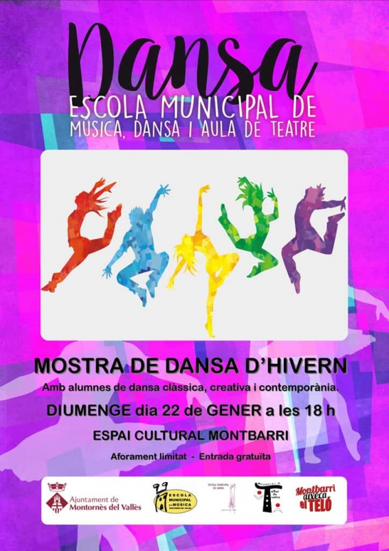 Cartell de la mostra de dansa