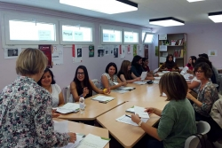 Participants en el curs de monitors d'activitats d'educació en el lleure infantil i juvenil