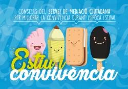 """Imatge de la campanya """"Estiu i Convivència"""""""