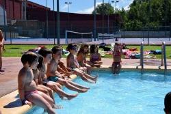 La piscina de Les Vernedes, complement indispensable de les activitats d'estiu