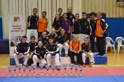 Club Karate Montornès en el Campionat de Catalunya (Font: Club Karate Montornès)
