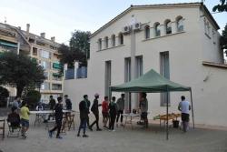 Can Xerracan ha estat l'escenari escollit per l'Espai Jove Satèl·lit per presentar el curs 2017-2018