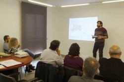 Presentació dels progressos del Pla director del Castell de Sant Miquel (Foto: Ajuntament de Vallromanes)
