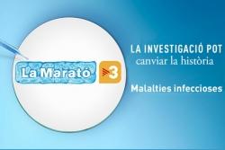 Cartell de la 26a edició de La Marató de TV3