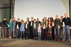 Premiats i premiades XVI Nit de l'Esport