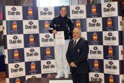 Naiara Moreno, guanyadora de la Lliga Nacional de Karate (Font: Club Karate Montornès)