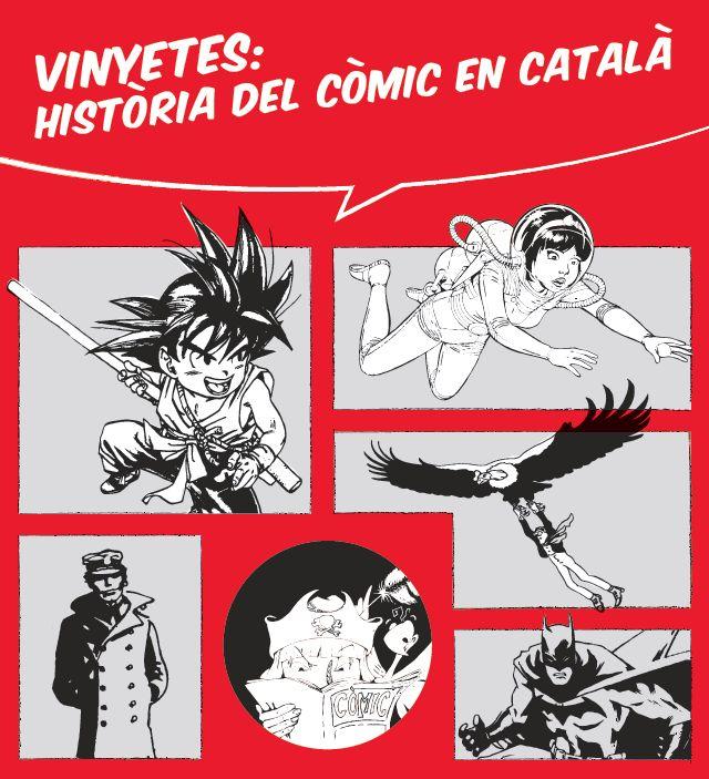 """Cartell exposició """"Història del còmic en català"""""""