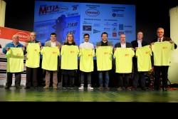 Els alcaldes, patrocinadors, Club d'Atletisme, Federació Catalana d'Atletisme i Diputació de Barcelona
