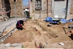 Intervenció arqueològica a la plaça de Joaquim Mir