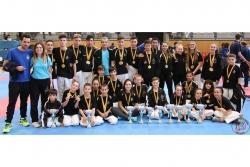 El Karate Montornès en el Campionat de Catalunya de Clubs (Font: Karate Montornès)