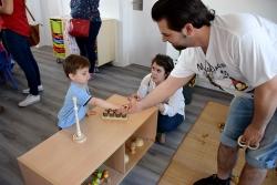 Espais d'interacció entre famílies, infants i equip educador