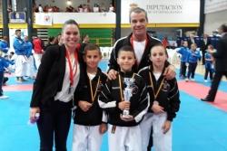 Equip infantil en el Campionat d'Espanya de Clubs (Font: Club Karate Montornès)