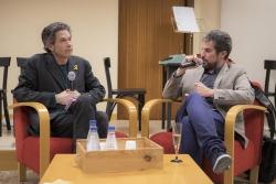 Els poetes Jaume c. Pons i Marc Romera
