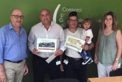 """Guanyadors de la 5a edició del sorteig """"Anar a la deixalleria té premi"""" (Font: Consorci per a la gestió dels residus del Vallès Oriental)"""