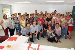Participants en els tallers de memòria del Casal de la Gent Gran Centre