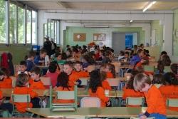 Menjador de l'Escola Mogent (Imatge d'arxiu)