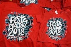 Samarretes de la Festa Major 2018