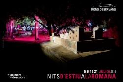 Cartell de les Nits d'estiu a la romana 2018
