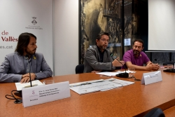 D'esquerre a dreta, Josep Ramon Mut, José A. Montero i David Ricart