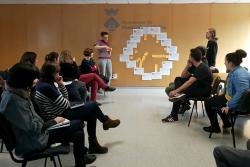 Sessió de debat del Pla de Cooperació amb personal tècnic de l'Ajuntament (febrer de 2018)