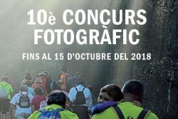 Cartell del Concurs fotogràfic del Parc de la Serralada Litoral