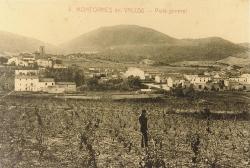 Imatge amb què es promociona la IX Beca Montornès del Recerca Històrica. Postal de Lucien Roisin. Dècada de 1910. (AMMV)