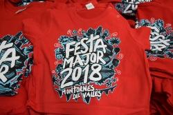 Samarreta de la Festa Major 2018
