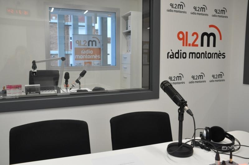 Estudis de Ràdio Montornès a Can Saurina