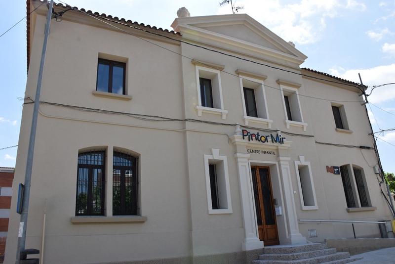 L'edifici del Centre Infantil Pintor Mir