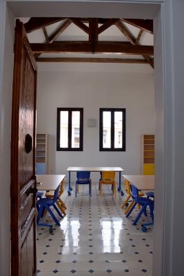 Sala d'oci a la primera planta per als infants més grans