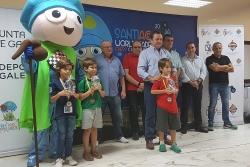 Àlex Villa, campió del pre-mundial sub-8 (Font: Club d'Escacs Montornès)