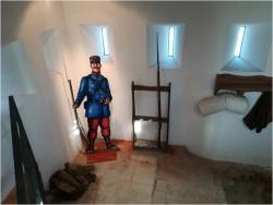 Interior de la torre del Telègraf (Foto: Dept. Mpal. de Patrimoni)