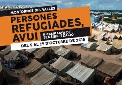 """Imatge de la campanya """"Persones refugiades, avui"""""""