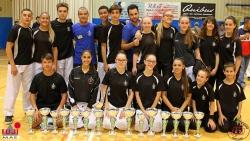El Club Karate Montornès al Campionat de Catalunya cadet, junior i sub21 (Font: Club Karate Montornès)
