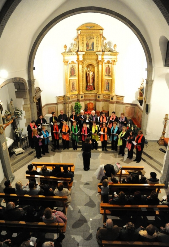 Concert a l'esglèsia de Sant Sadurní (Imatge d'arxiu)