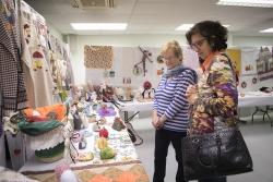 Exposició de costura creativa i treballs artesanals