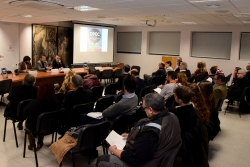 Primera sessió de treball del Consell d'empreses