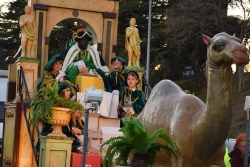 Carrossa del rei Baltasar a la cavalcada de reis de l'any passat