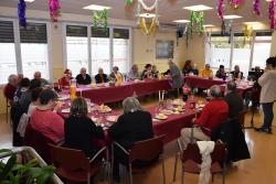 Dinar de Nadal de les persones grans usuàries del programa de suport alimentari del departament de Serveis Socials