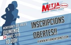 Inscripcions a la Mitja Montornès 2019