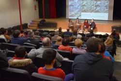Presentació a Montbarri del projecte de reactivació de la parcel·la del camp de futbol de Montornès Nord