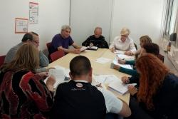 Sessió formativa en el marc del projecte DIL Barri Olímpia (Imatge d'arxiu)