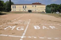 Espai on s'ubicarà el nou centre juvenil al carrer del Molí