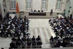 Acte per a la signatura del Pacte contra la segregació escolar (Foto: Parlament de Catalunya)
