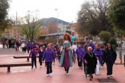 25/11/2018 - Caminada del Dia Internacional contra la violència masclista